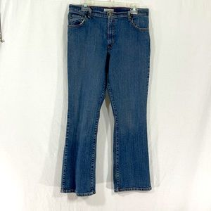 LEVI's 550 Relaxed Boot Cut Denim Jeans VINTAGE